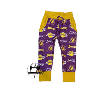 Lakers Joggers 💛💜🏀