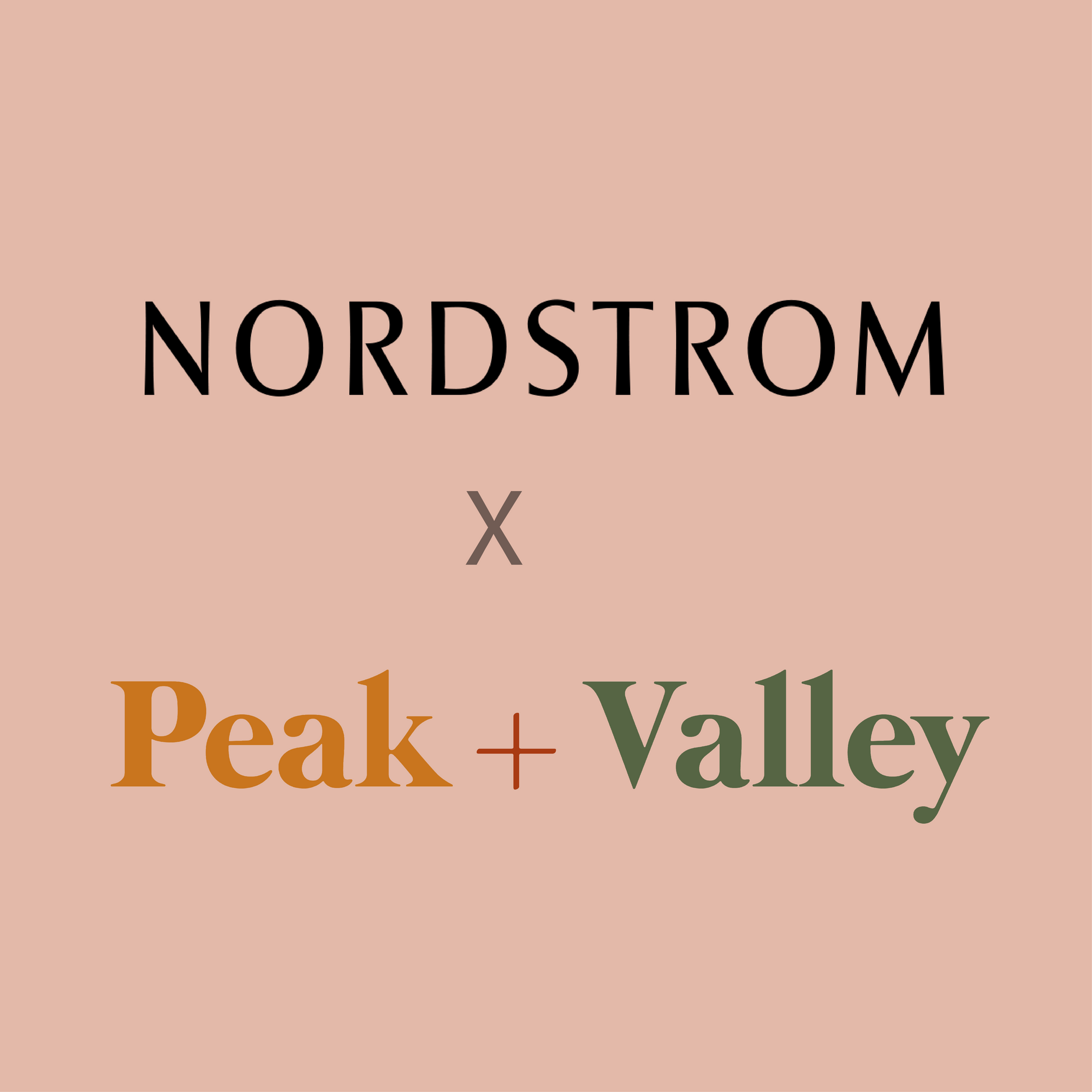 Pop-In@Nordstrom X Peak and Valley
