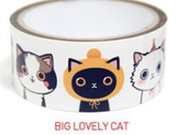 Lovely Cat Tape (Large and Mini)