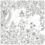 비밀의 정원(Secret Garden: An Inky Treasure Hunt And Colouring Book)