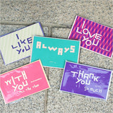 Hangeul Message Cards (Set)