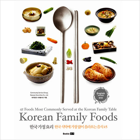 Korean Family Foods - 45 Foods Most Commonly Served at the Korean Family Table