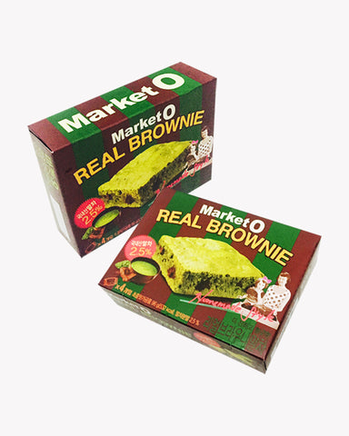 Market O Real Brownie Matcha (Green tea)