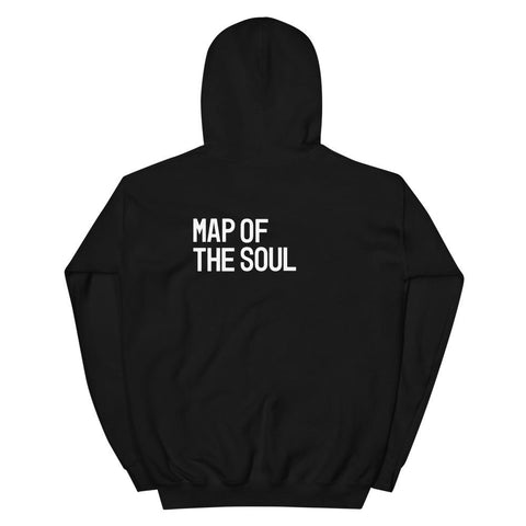 [BTS] Map of the Soul Hoodie - Black (Free Shipping)