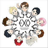 EXO: A day in Exoplanet: Coloring book