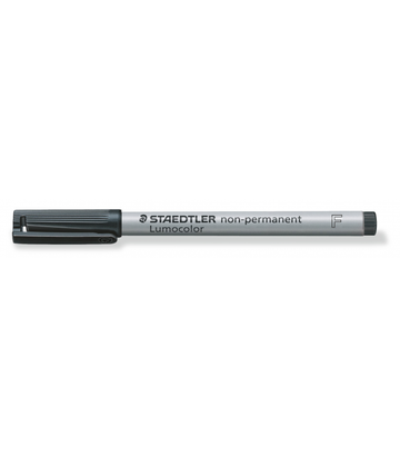 <transcy>Staedler Lumocolor non-permanent Black 0.6mm</transcy>