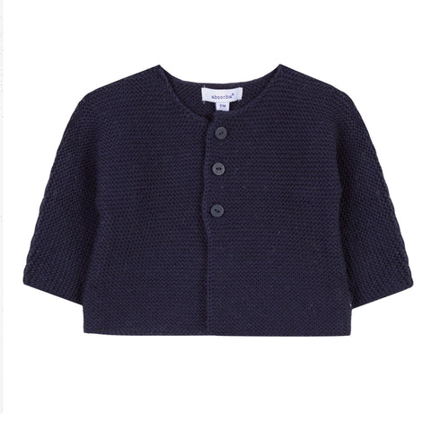 Absorba Baby Cardigan Navy Blue