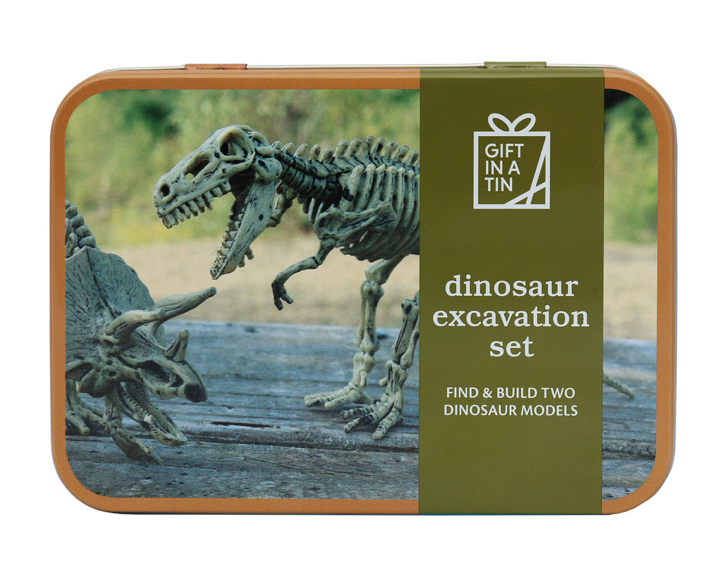 Gifts in a Tin Dino Excavation Kit