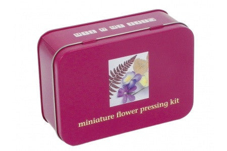 Gifts in a Tin Mini Flower Press Kit