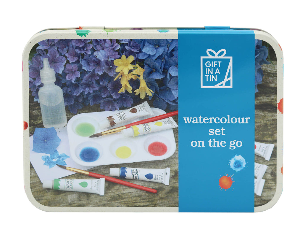 Gifts in a Tin Watercolour Set On the Go