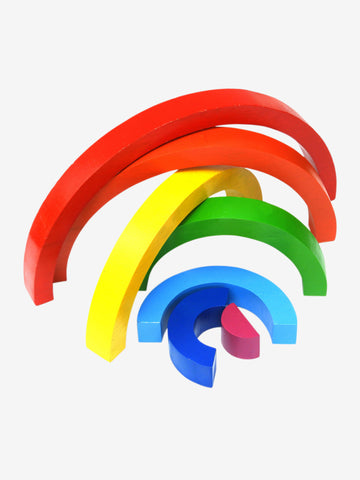 Best Years Fairtrade Wooden Rainbow Large