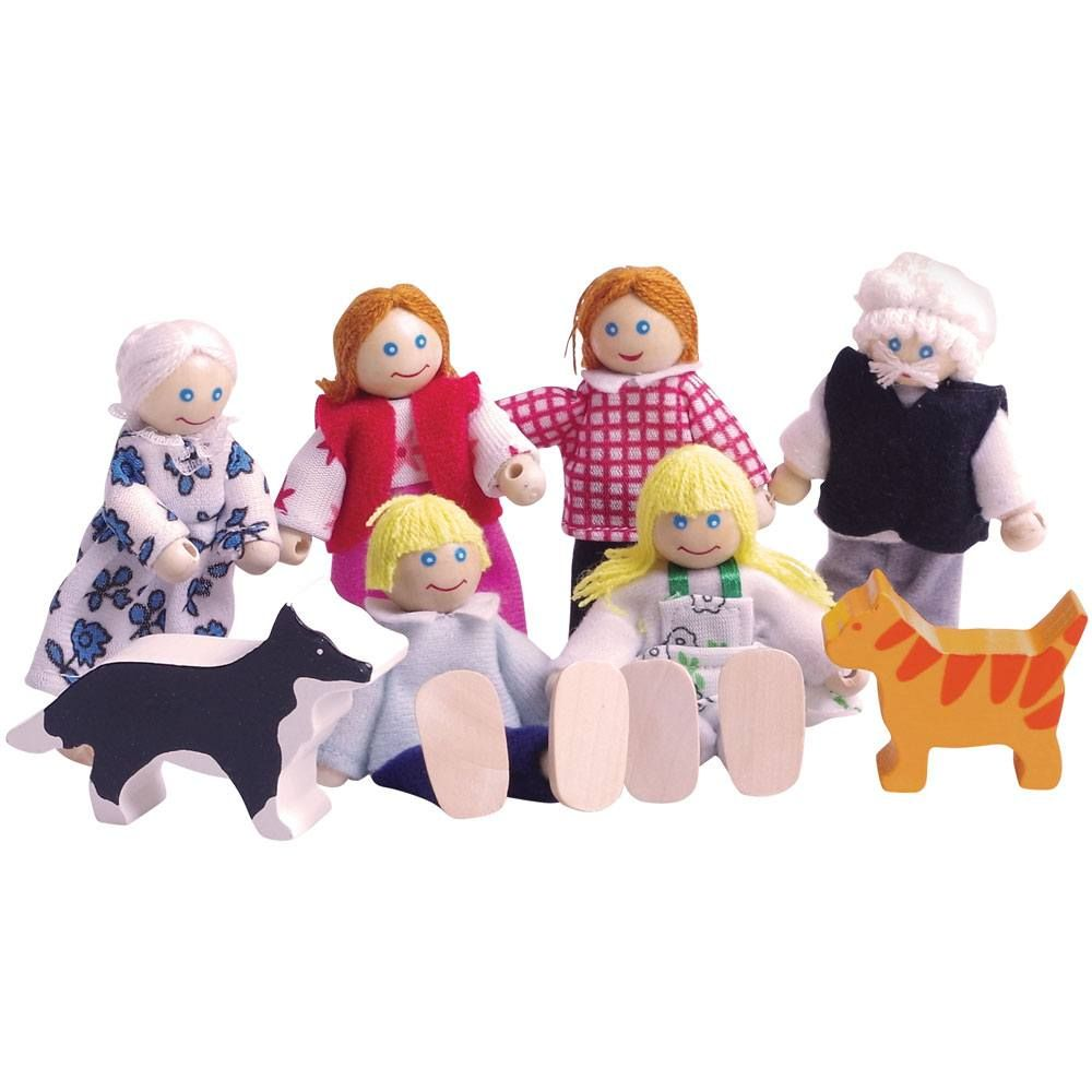 BigJigs Doll's House Family