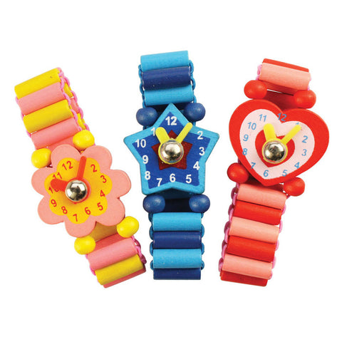 BigJigs Wooden Snazzy Play Watch
