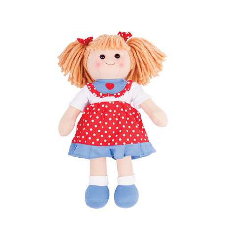 BigJigs Rag Doll Emily, Medium