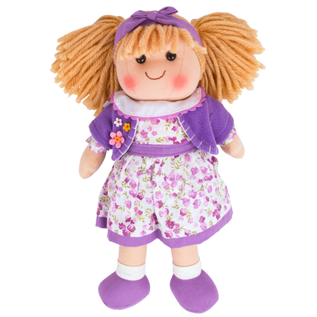 BigJigs Rag Doll Laura, Medium