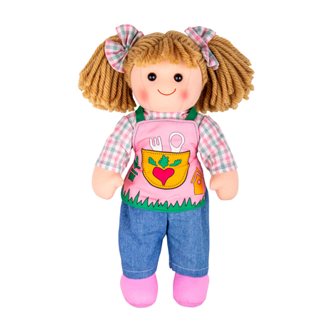 BigJigs Rag Doll Elsie, Medium