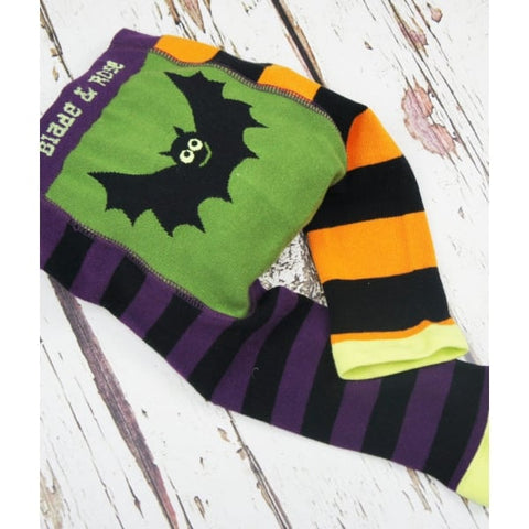 Blade and Rose Baby Halloween Bat Leggings