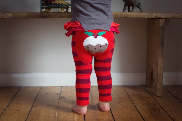 Blade and Rose Baby Christmas Pudding Leggings