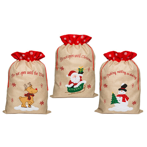 Christmas Sacks Various Designs