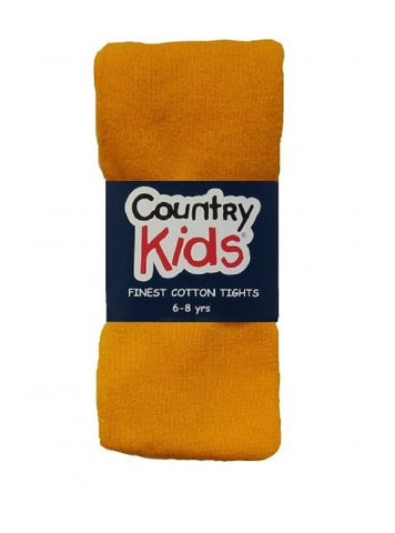 Country Kids Luxury Cotton Mustard