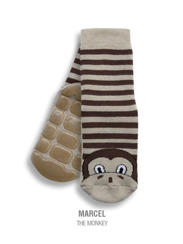 Country Kids Slipper Socks Marcel Monkey