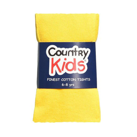 Country Kids Luxury Cotton Tights Marigold