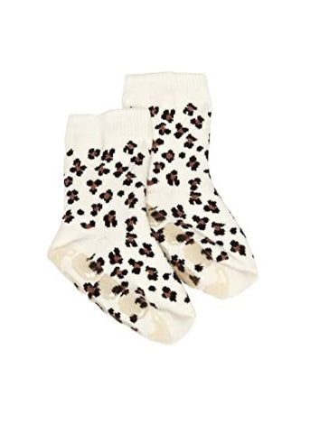 Country Kids Slipper Socks Larry Leopard
