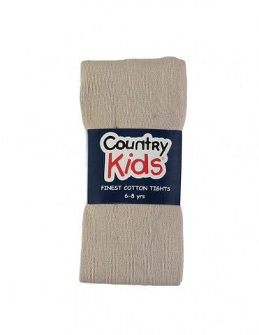 Country Kids Luxury Cotton Tights Camel