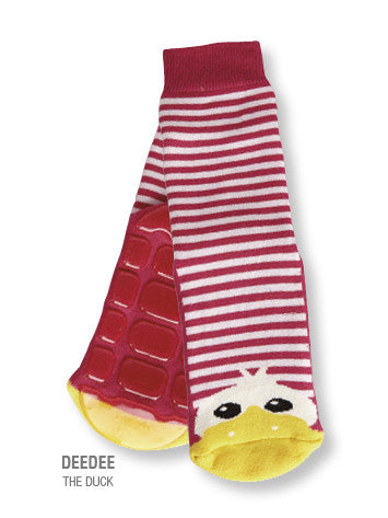 Country Kids Slipper Socks Dee Dee Duck