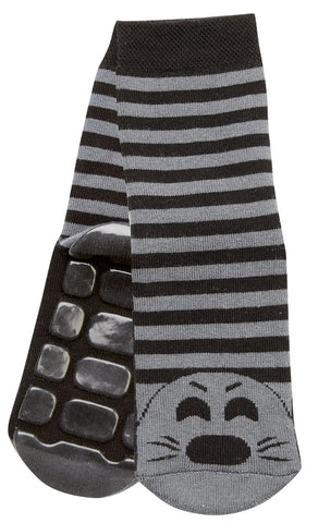 Country Kids Slipper Socks Sammy Seal