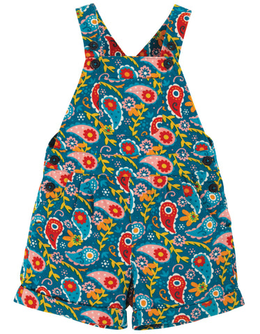 Frugi Peggy Cord Playsuit Pixie Paisley