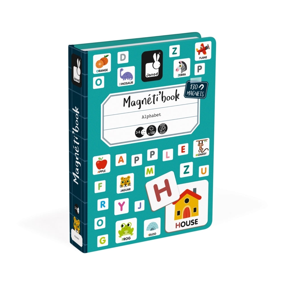 Janod Magnetic Book, English Alphabet