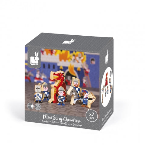 Janod Mini Story Play Set, Knights