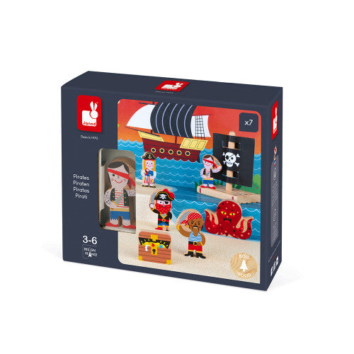 Janod Story Play Set, Pirates