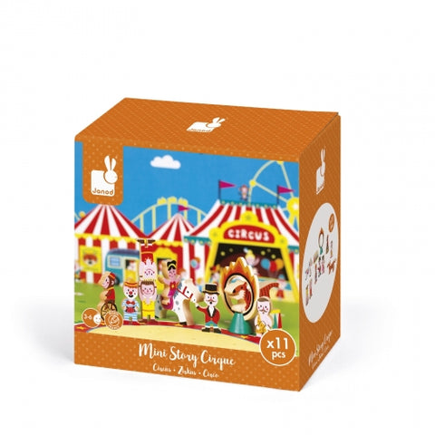 Janod Mini Story Play Set, Circus