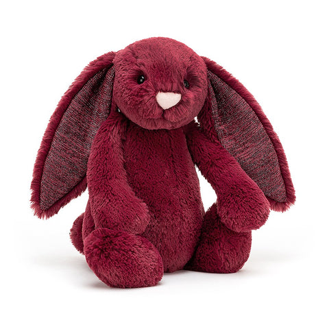 Jelly Cat Bashful Bunny Sparkly Cassis