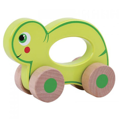 Jumini Wooden Push Along Friends Turtle