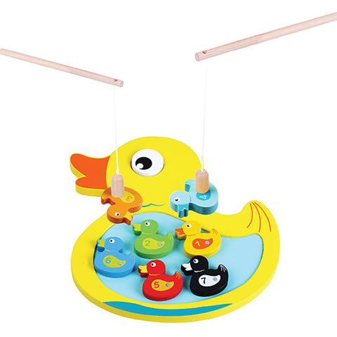 Jumini Wooden Magnetic Duck game