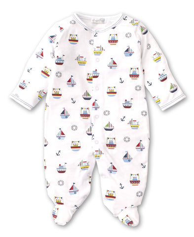 Kissy Kissy Pima Cotton Footie Windjammers