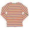 Kite Girls Rainbow Stripe Long Sleeve T Shirt