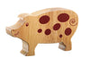 Lanka Kade Fairtrade Natural Wood Toys Pig
