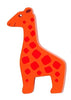 Lanka Kade Fair Trade Painted Wood Safari Animals-giraffe