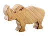 Lanka Kade Fair Trade Natural Wood Toys Rhino