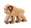 Lanka Kade Fair Trade Natural Wood Toys Chimpanzee