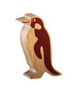 Lanka Kade Fair Trade Natural Wood Toys Penguin