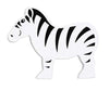 Lanka Kade Fair Trade Painted Wood Safari Animals-zebra