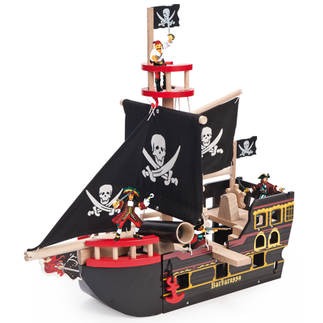 Le Toy Van Barborossa Pirate Ship