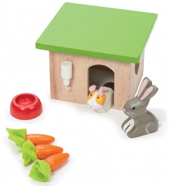 Le Toy Van Bunny and Guinea Pig Pet Set