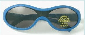 Lollipop UV 400 Blue Rubber Sunglasses