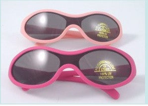 Lollipop UV 400 Pink Rubber Sunglasses